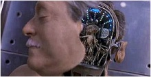 "From ""Men in Black"": The alien in place of a brain."