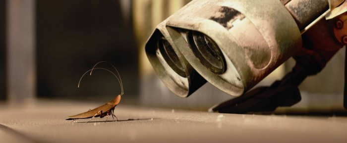 The only cockroach that is allowed in my house, and then only on the television screen. Image by Disney/Pixar, from Wall-E.